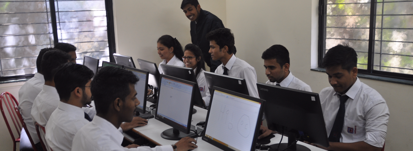 Well equipped Computer Labs facilitate technology focused education