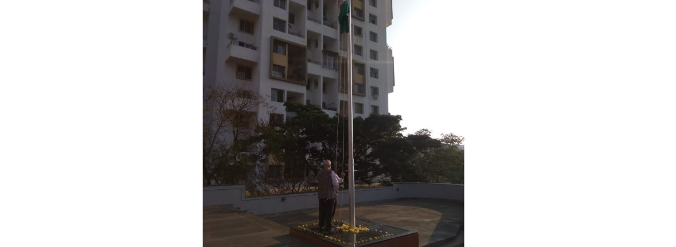 Republic Day celebration at Bavdhan campus